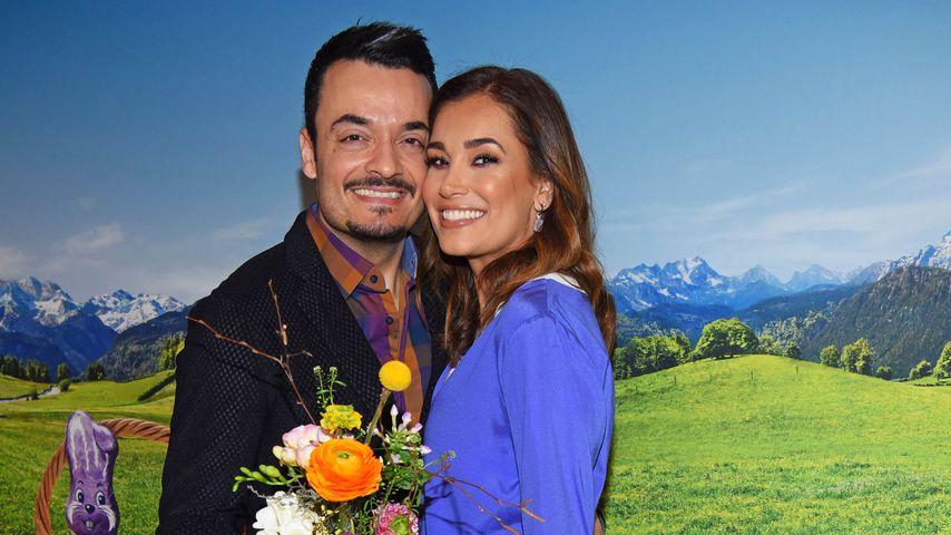 Giovanni und Jana Ina Zarrella beim Milka Oster-Brunch in Hamburg