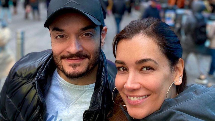 Giovanni und Jana Ina Zarrella in New York