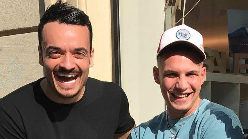 Direkt an Chart-Spitze: Giovanni total stolz auf Bro Pietro!