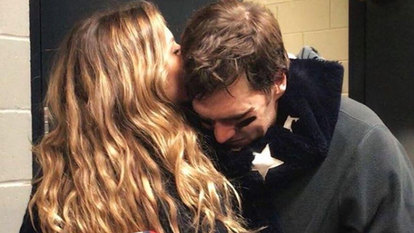 Super-Bowl-Niederlage: Gisele Bündchen tröstet ihren Tom