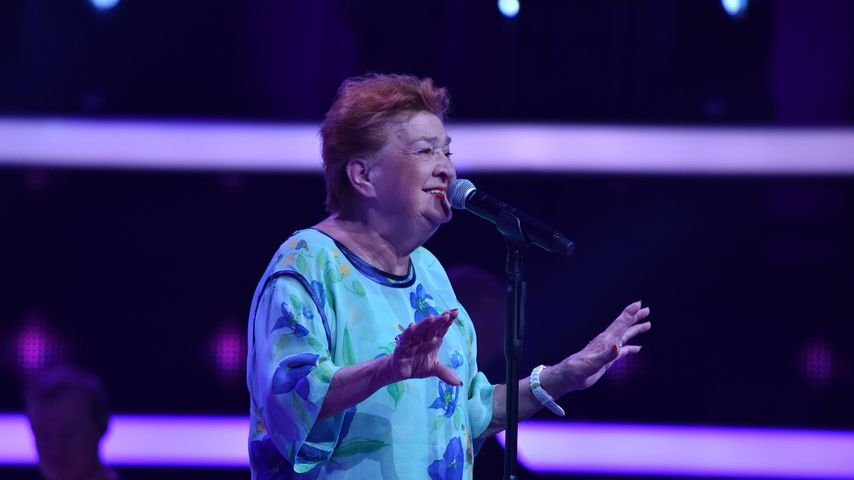 "Giselle Rommel während ihrer Blind Audition bei ""The Voice Senior"""