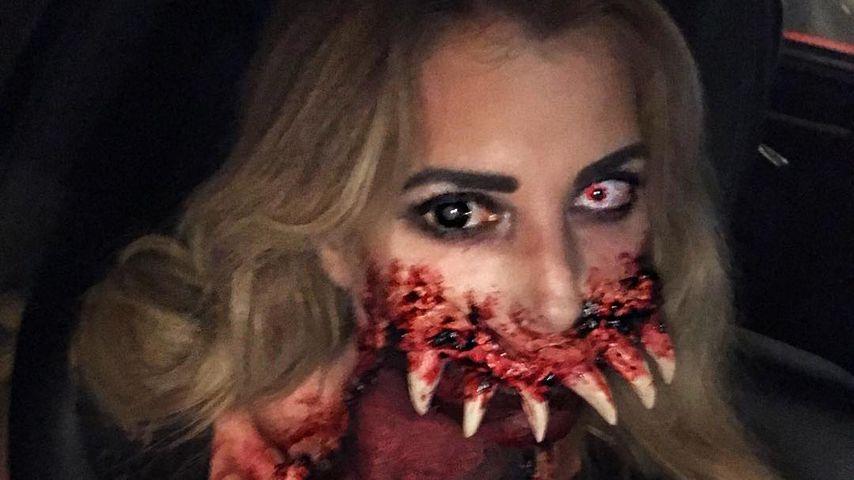 Giulia Siegel: Hat sie das krasseste Halloween-Kostüm ever?