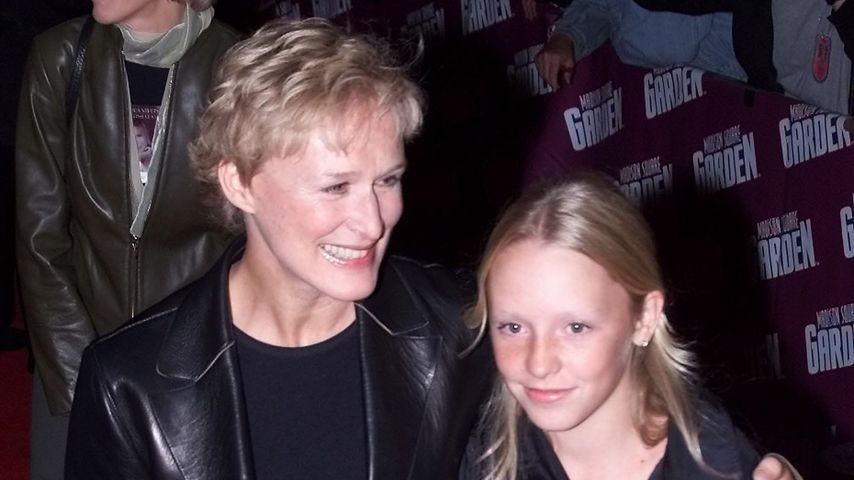 Glenn Close und ihre Tochter Annie in New York, 2000