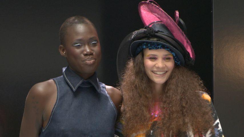Betty Taube und Aminata Sanogo