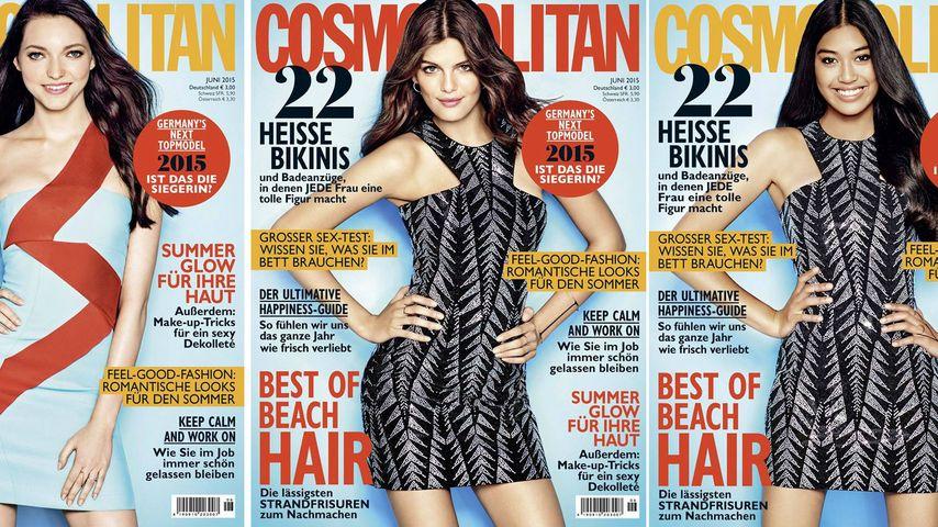 Dieses GNTM-Girl hat das schönste Cosmo-Cover!