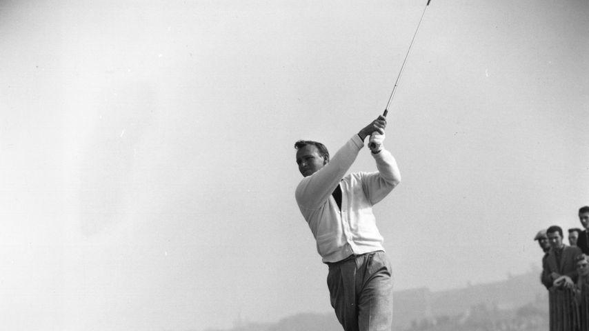 Golf-Star Arnold Palmer in den 50er Jahren