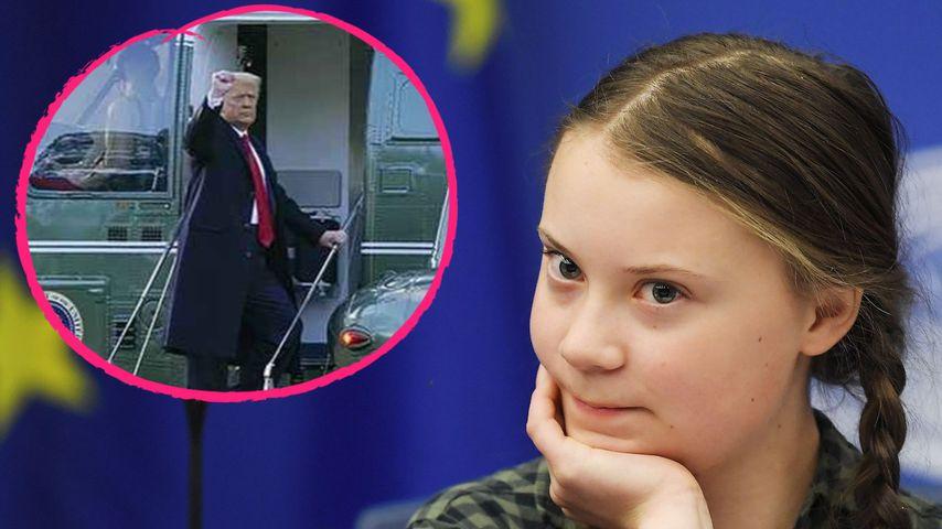 Greta Thunberg rächt sich für fiesen Spruch an Donald Trump