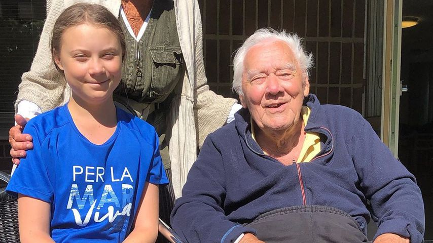 Klima-Heldin Greta Thunberg trauert: Ihr Opa ist gestorben