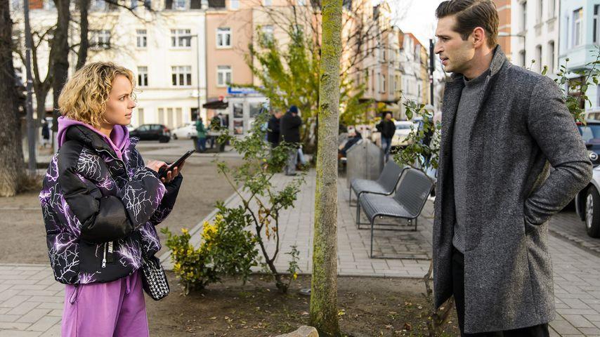"""Greta Voss (Barbara Prakopenka) und Deniz (Igor Dolgatschew) in """"Alles was zählt"""""""