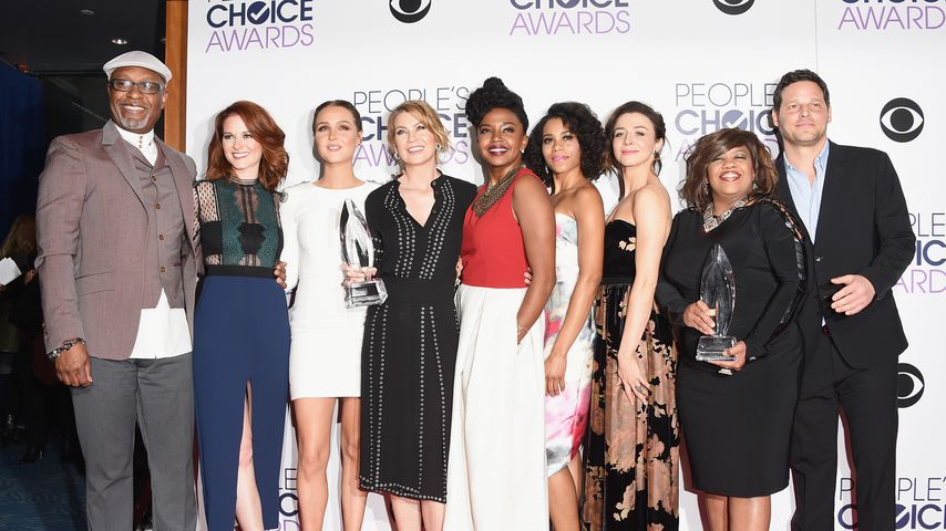 """Grey's Anatomy""-Cast bei den People's Choice Awards 2016"