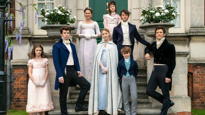 """Die Familie Bridgerton in der Serie """"Bridgerton"""""""