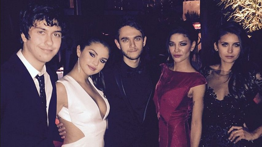Selena Gomez, Nina Dobrev, Zedd und Jessica Szohr