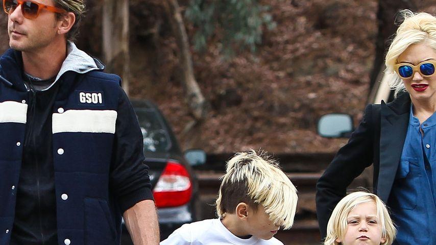 Gwen Stefani, Gavin Rossdale und Zuma Rossdale