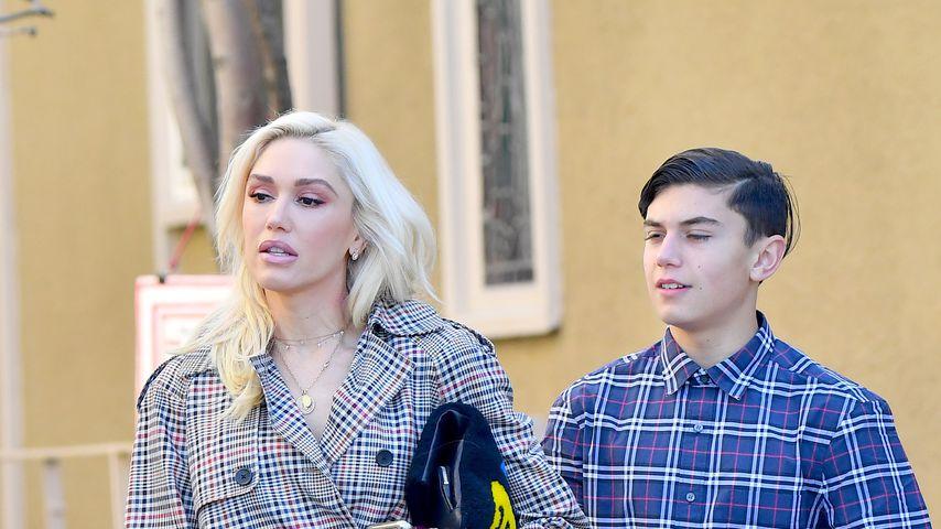 Gwen Stefani mit ihrem Sohn Kingston