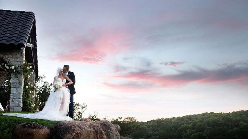 Gwen Stefani und Blake Shelton bei ihrer Hochzeit