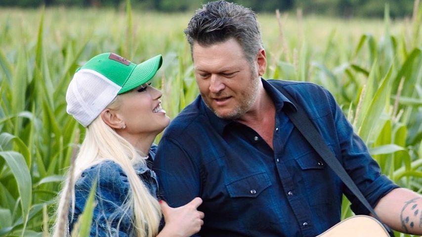 """Gwen Stefani und Blake Shelton im Video zum gemeinsamen Song """"Happy Anywhere"""""""