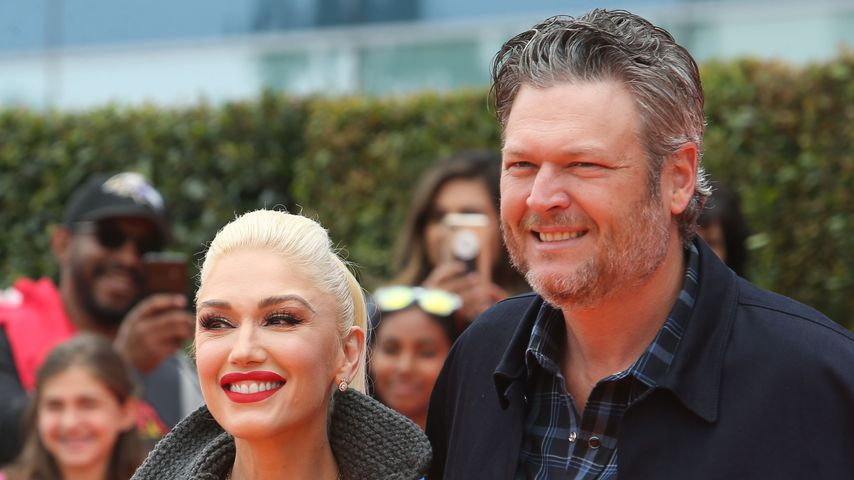 Gwen Stefani und Blake Shelton, April 2019