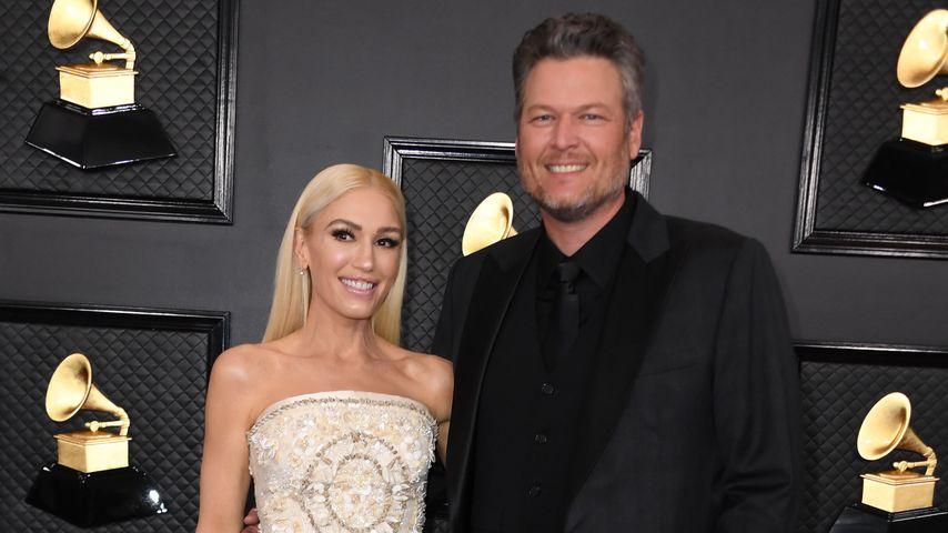 Gwen Stefani und Blake Shelton bei den 62. Grammy Awards im Januar 2020