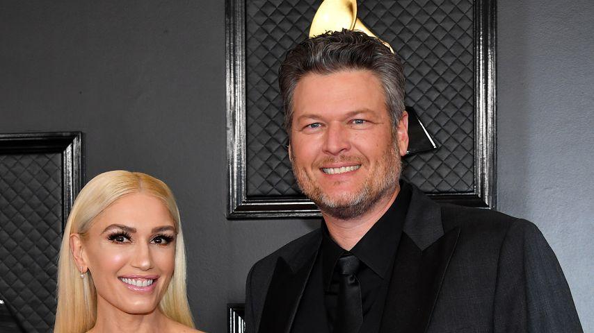 Gwen Stefani und Blake Shelton im Januar 2020 in Los Angeles