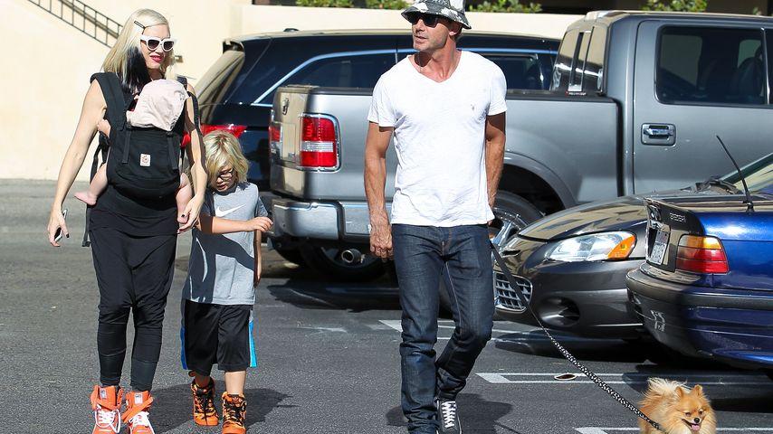 Gwen Stefani und Gavin Rossdale unterwegs mit ihren Kindern in Los Angeles