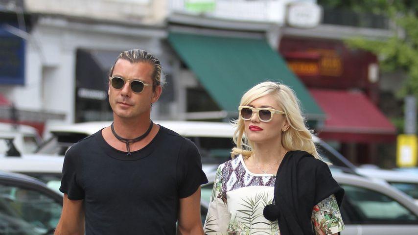Spießig? Gwen Stefani & Gavin mit Partnerbrillen