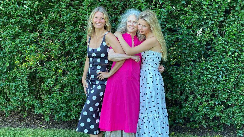 Frauenpower: Gwyneth Paltrow posiert mit Mutter und Tochter