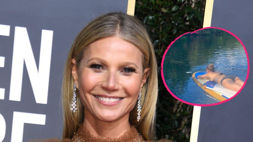 """""""Earth Day"""": Gwyneth Paltrow zeigt sich naturnah im Bikini"""