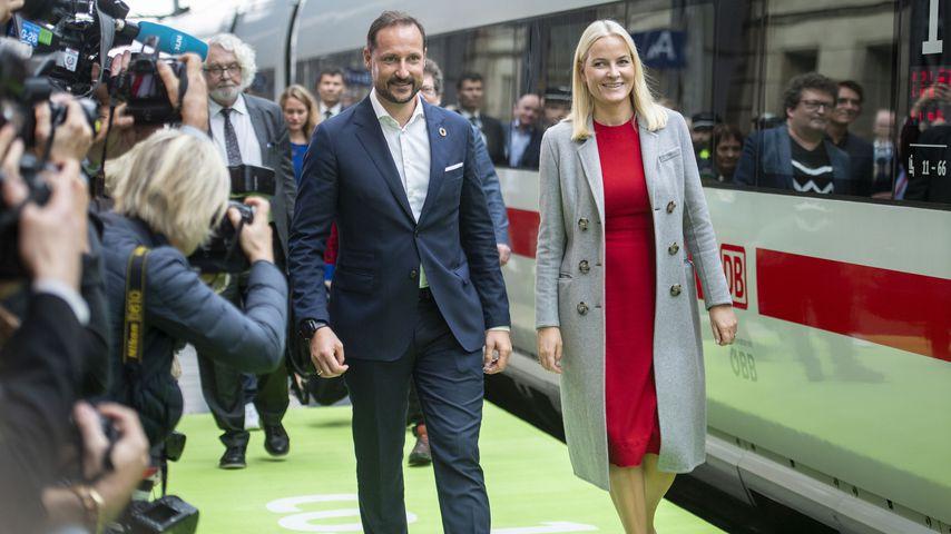 Kronprinz Haakon und Kronprinzessin Mette-Marit von Norwegen im Oktober 2019