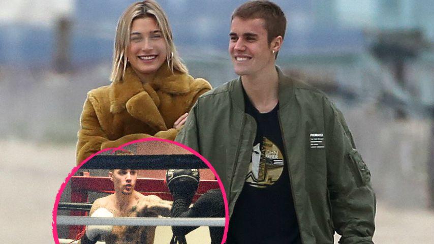 Mit Haileys Support: Justin Bieber steigt in den Box-Ring!