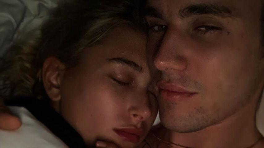 Intimer Einblick: Justin & Hailey Bieber kuscheln im Bett