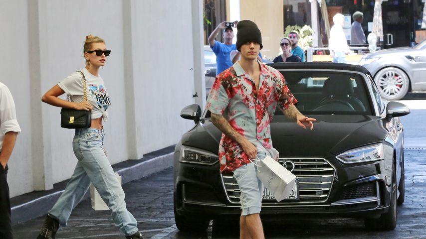 Hailey und Justin Bieber im August 2019