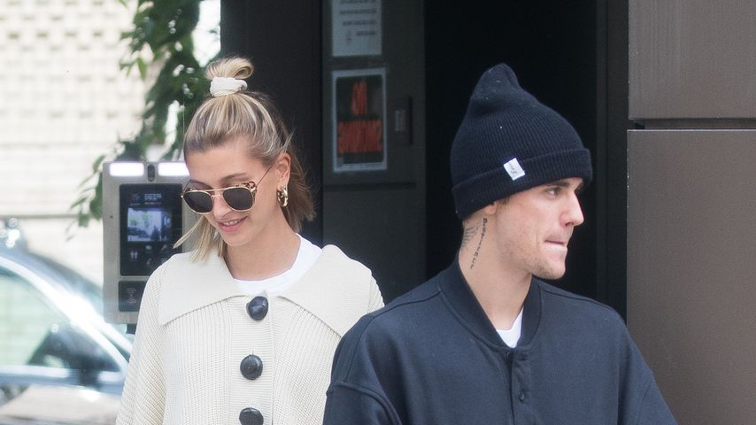 Hailey und Justin Bieber in New York, Mai 2019