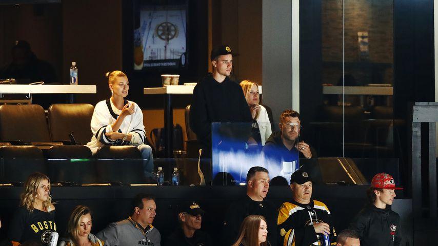 Hailey und Justin Bieber bei den NHL Stanley Cup Play-offs