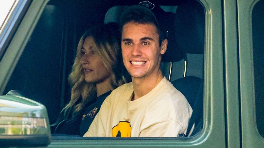 Hailey und Justin Bieber in Beverly Hills, Oktober 2019