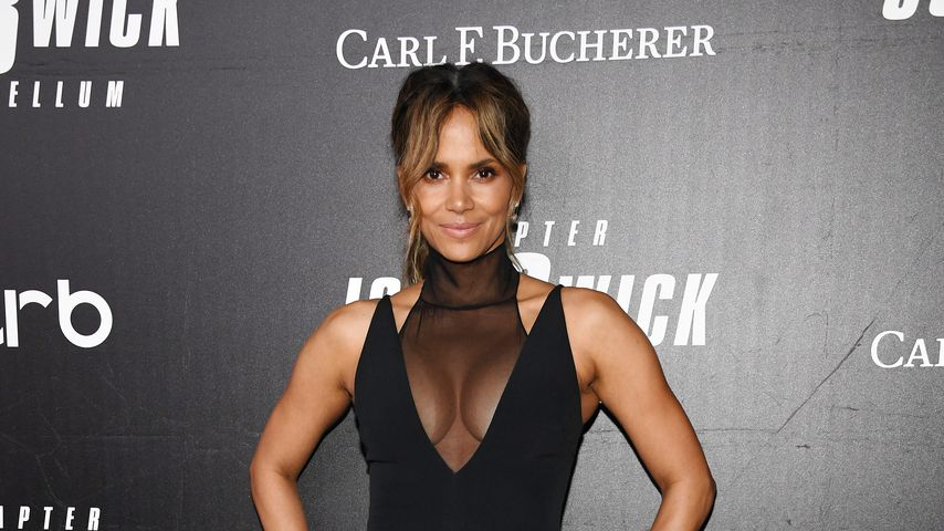 Collage: Halle Berry, Mai 2019 in New York City