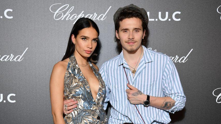 Hana Cross und Brooklyn Beckham im Mai 2019 beim Filmfestival in Cannes