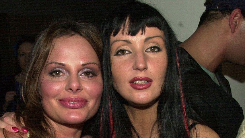 """Hanka Rackwitz (rechts) bei einer """"Big Brother""""-Party"""