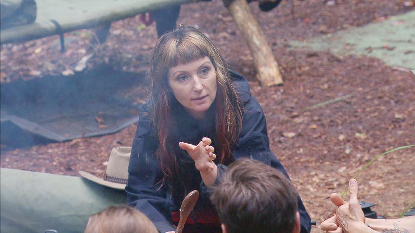 TV-Maklerin Hanka Rackwitz während des Dschungel-Camps 2017
