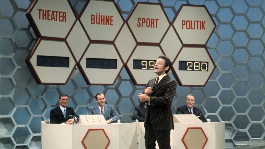 "Hans Rosenthal bei ""Dalli Dalli"" im Dezember 1971"