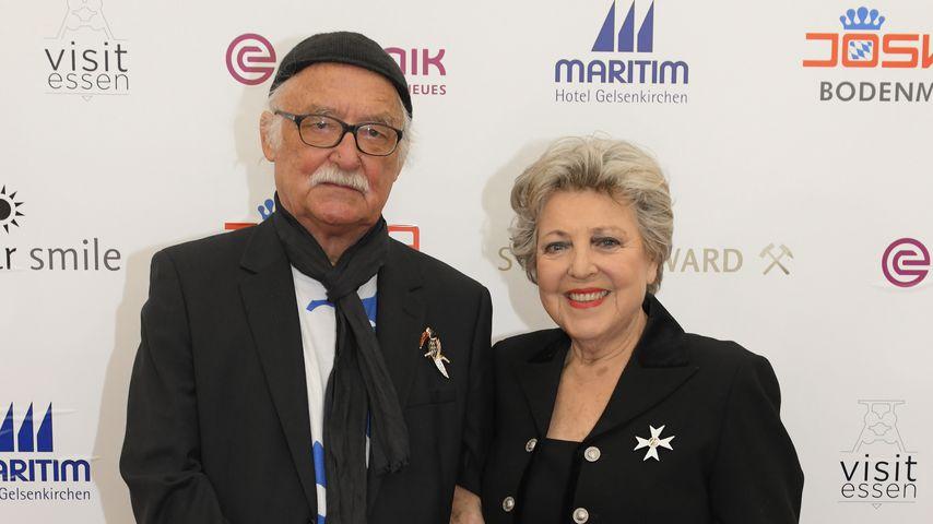 Hans W. Geißendörfer und Marie-Luise Marjan im März 2019