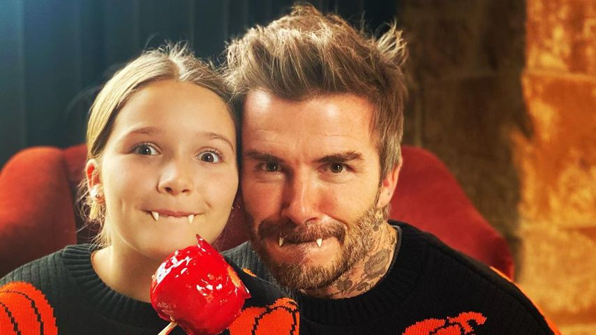 Harper und David Beckham