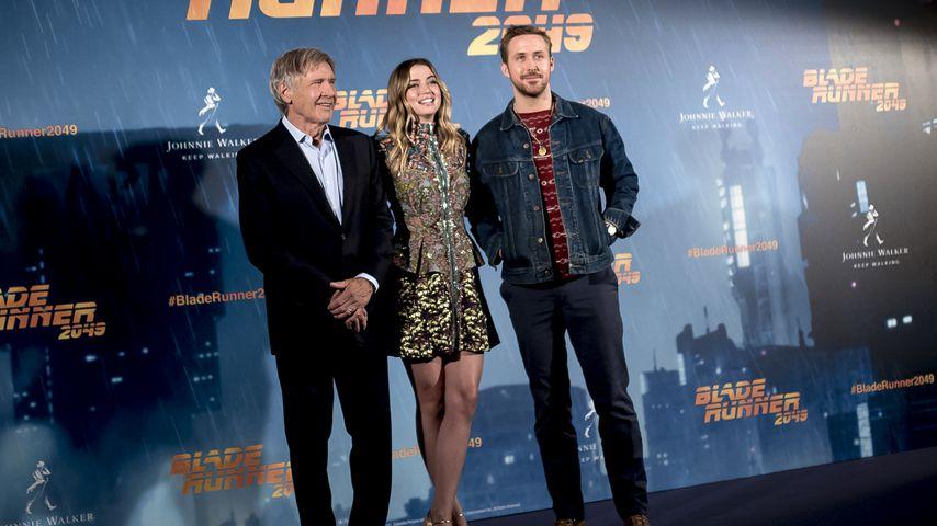 Harrison Ford UND Ryan Gosling! Co-Star Ana ist hin und weg
