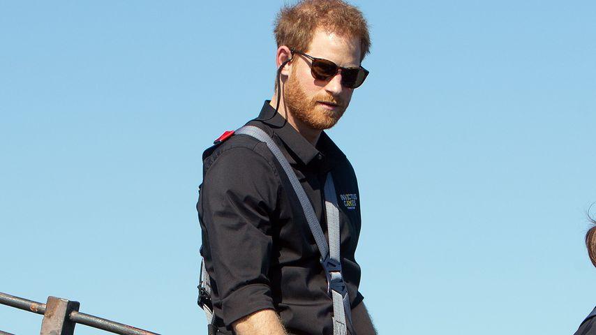 Prinz Harry auf der Sydney Harbour Bridge