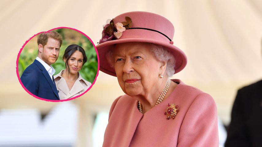 Was sagt die Queen zum Oprah-Interview von Harry und Meghan?