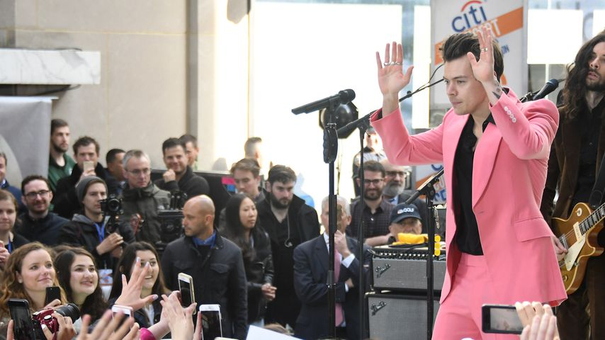 """Harry Styles in NBCs """"Today Show"""""""