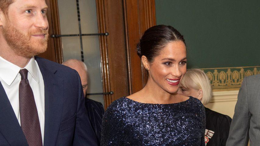 Prinz Harry und Herzogin Meghan im Januar 2019