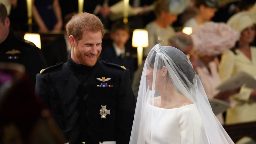 Prinz Harry und Herzogin Meghan in der St George's Chapel