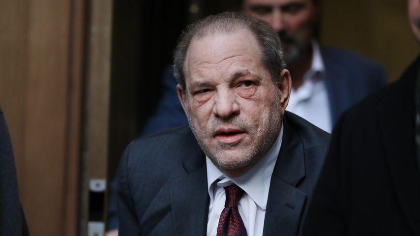Nach Kopfsturz: Harvey Weinstein kommt zurück ins Gefängnis