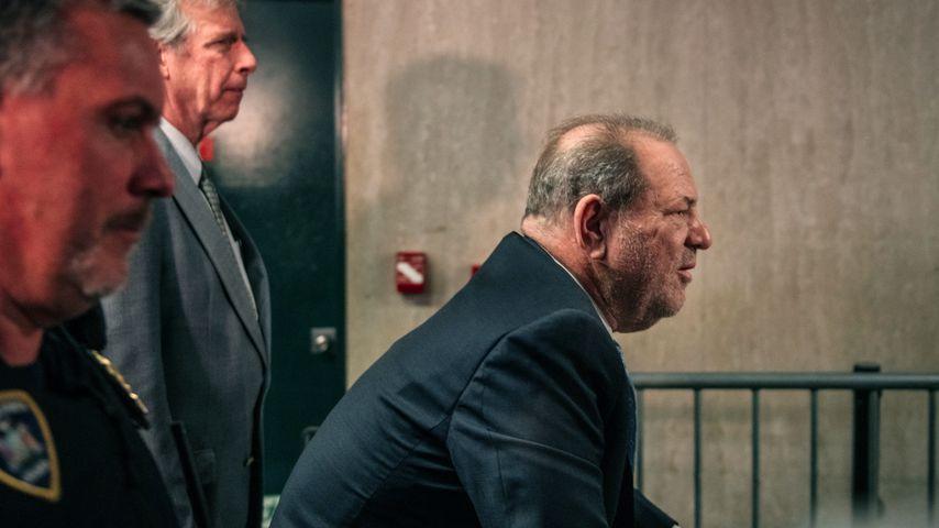 Harvey Weinstein vor Gericht in NYC im Februar 2020