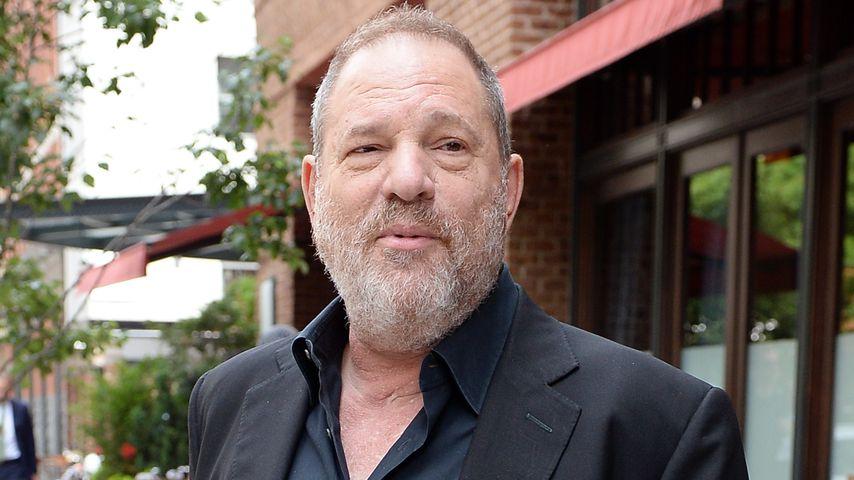 Harvey Weinstein beim Verlassen seines Hotels in New York